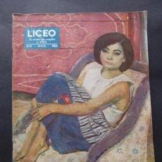 Coleccionismo de Revistas y Periódicos: REVISTA LICEO NUMERO 57 MAYO DE 1950. Lote 36952283