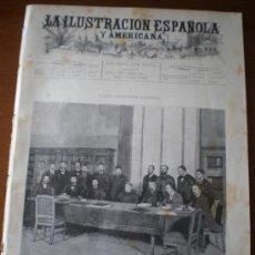 Coleccionismo de Revistas y Periódicos: ILUSTRACION ESPAÑOLA/AMERICANA (08/10/95) VALLADOLID ZORRILLA PASTEUR MADRID ARMADA SAN SEBASTIAN . Lote 36974623