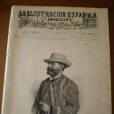 Coleccionismo de Revistas y Periódicos: ILUSTRACION ESPAÑOLA/AMERICANA (15/10/95) POTES CANTABRIA SALAMANCA SAN SEBASTIAN CUBA VILLEGAS . Lote 36974923