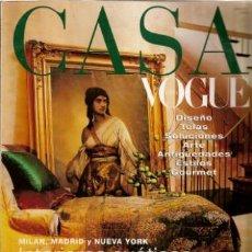 Coleccionismo de Revistas y Periódicos: CASA VOGUE MARZO 1999. Lote 128027148