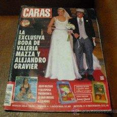 Coleccionismo de Revistas y Periódicos: REV. CARAS Nº853. MAYO /98-EXCLUSIVA BODA DE VALERIA MAZZA-ANTES,DURANTE Y DESPUES DE LA BODA.-. Lote 37004469