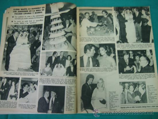 Coleccionismo de Revistas y Periódicos: Revista de actualidad semana. Boda de Palomo Linares - Foto 3 - 51541417