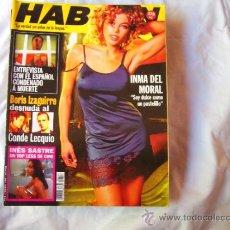Coleccionismo de Revistas y Periódicos - HABLAN Nº 29, INES SASTRE EN TOP-LESS, INMA DEL MORAL, CHARLIZE THERON - 125900604