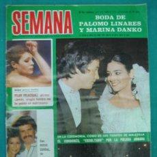 Coleccionismo de Revistas y Periódicos: REVISTA DE ACTUALIDAD SEMANA. BODA DE PALOMO LINARES. Lote 51541417