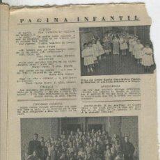 Coleccionismo de Revistas y Periódicos: REVISTA AÑO 1955 FOTO ESCUELA GENERALISIMO FRANCO DE MANRESA .SALESIANOS DE SANT VICENÇ DELS HORTS . Lote 37028906