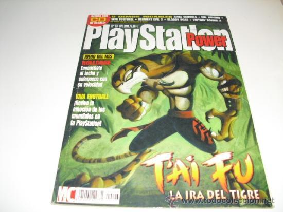 POWER PLAYSTATION REVISTA DE PLAYSTATION Nº 23 (Coleccionismo - Revistas y Periódicos Modernos (a partir de 1.940) - Otros)
