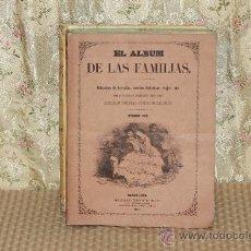 Coleccionismo de Revistas y Periódicos: 3100-EL ALBUM DE LAS FAMILIAS. PERIODICO SEMANAL. 1858. 3 TOMOS VER DESCRIPCION. . Lote 37085563