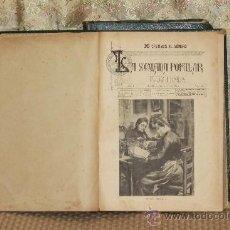 Coleccionismo de Revistas y Periódicos: 3105- LA SEMANA POPULAR. TIP. DE LA CASA PROVINCIAL DE CARIDAD. 1890/1892. 2 TOMOS. . Lote 37087404