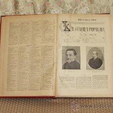 Coleccionismo de Revistas y Periódicos: 3106-LA SEMANA POPULAR ILUSTRADA. TIP. DE LA CASA PROVINCIAL DE CARIDAD. 1890/1892. 1 TOMO.. Lote 37087642