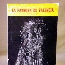 Coleccionismo de Revistas y Periódicos: ANUARIO. VIRGEN DESAMPARADOS. VALENCIA, PROGRAMA OFICIAL DE FESTEJOS, 1970. Lote 37089866