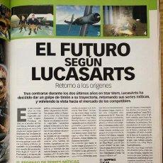 """Coleccionismo de Revistas y Periódicos: MICROMANÍA CON REPORTAJE ESPECIAL """"EL FUTURO SEGÚN LUCAS ARTS"""" (MATERIAL STAR WARS DE LOS 90). Lote 37173673"""