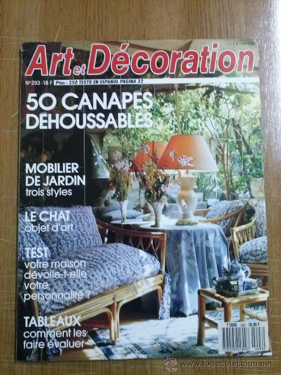 revista francesa art et decoration - Comprar Otras revistas y ...