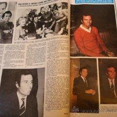 Coleccionismo de Revistas y Periódicos: JULIO IGLESIAS- ROCIO JURADO- MIGUEL RIOS- CARMEN SEVILLA- REVISTA SEMANA. Lote 37184602