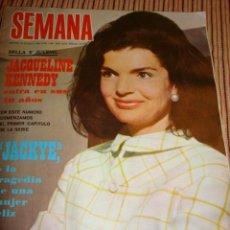 Colecionismo de Revistas e Jornais: JACKIE KENNEDY GRACE DE MONACO BRIGGITE BARDOT LINA MORGAN. Lote 37189892
