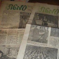 Coleccionismo de Revistas y Periódicos: SIGNO, SEMANARIO DE LA JUVENTUD DE ACCION CATOLICA. 775 Y 778.. Lote 37194446