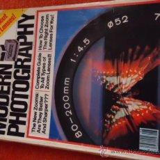 Coleccionismo de Revistas y Periódicos: MODERN PHOTGRAPHY AGOSTO 1981 VOLUMEN 45 N 8. Lote 37227208