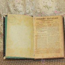 Coleccionismo de Revistas y Periódicos: 3142- CORREO CATALAN. SUPLEMENTO LITERARIO. VV.AA. 1887/1889.. Lote 37211728