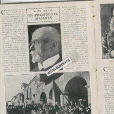 Coleccionismo de Revistas y Periódicos: REVISTA AÑO 1928 VILLAGONZALO VIESCAS BIESCAS JACA ESCUELA DE SAN MARTIN SARROCA SANT MARTI SARROCA . Lote 37211957