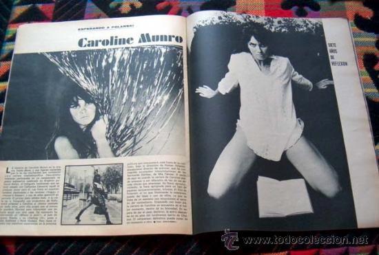 Coleccionismo de Revistas y Periódicos: Revista TRIUNFO 1969 / CAROLINE MUNRO, PABLO PICASSO, NURIA ESPERT - Foto 2 - 37251763