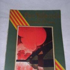 Coleccionismo de Revistas y Periódicos: REVISTA - FOC VALENCIA EN LA SEMANA FALLERA - ARTISTAS FALLEROS 1933 - ARTICULOS Y ANUNCIOS PUBLICI. Lote 37261011