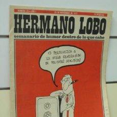 Coleccionismo de Revistas y Periódicos: HERMANO LOBO Nº 29. Lote 37280749