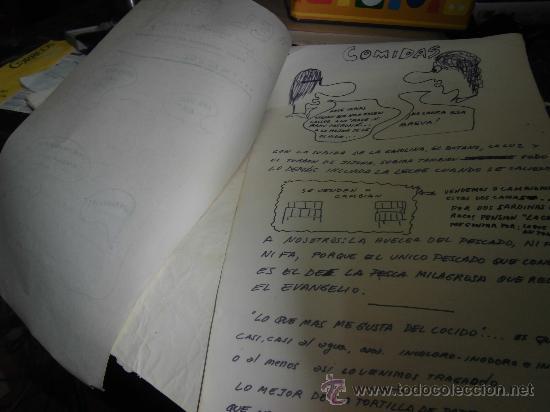Coleccionismo de Revistas y Periódicos: PERIODICO MANUSCRITO INEDITO satirico EL PATATUS AÑO DEL HAMBRE REALIZADO EN ALICANTE SINDICALIS - Foto 2 - 37283666