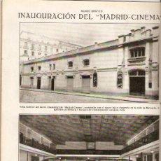 Coleccionismo de Revistas y Periódicos: AÑO 1919 CINE MADRID CINEMA HUELGA DEL PAN PANADEROS HUELGA BARCELONA LUZ Y AGUA LA CANADIENSE . Lote 37284272
