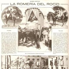Coleccionismo de Revistas y Periódicos: AÑO1918 MADRID CORPUS ROMERIA DEL ROCIO CRISTO DE LA SALUD CUARTEL DE LA MONTAÑA FIESTA SAN FERNANDO. Lote 37298745