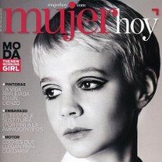 Coleccionismo de Revistas y Periódicos: REVISTA MUJER HOY. CAREY MULLIGAN. 2013. Lote 37321649