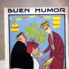 Coleccionismo de Revistas y Periódicos: ANTIGUA REVISTA. BUEN HUMOR. SEMANARIO SATÍRICO. Nº 32. MADRID. 1922. DIBUJANTE. ROBLEDANO. Lote 37325646