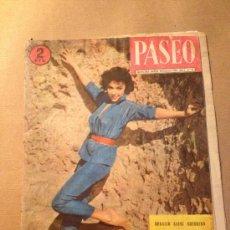 Coleccionismo de Revistas y Periódicos: REVISTA PASEO / AÑO I - Nº 43 - 8 DE DICIEMBRE DE 1956 - PORTADA RITA MORENO. Lote 37331627