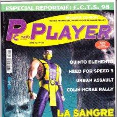 Coleccionismo de Revistas y Periódicos: REVISTA PC PLAYER Nº 40. Lote 37353132