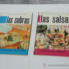 Coleccionismo de Revistas y Periódicos: 2 EJEMPLARES DE LA REVISTA - BIBLIOTECA AMA DE CASA-. AÑO 1963.. Lote 37443946