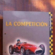 Coleccionismo de Revistas y Periódicos: ALBUM 60 FICHAS DE LA COLECCION COCHES INOLVIDABLES -: LA COMPETCION – COMPLETO - EDICIONES SALVAT. Lote 37393724