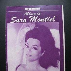 Coleccionismo de Revistas y Periódicos: REVISTA SARA MONTIEL ALBUM FOTOGRAMAS. Lote 37416272
