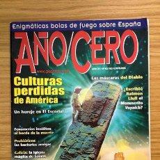 Coleccionismo de Revistas y Periódicos: REVISTA AÑO CERO Nº 163 CULTURAS PERDIDAS DE AMÉRICA / LA HERENCIA SAMÁNICA DE MARÍA SABINA. Lote 37421708