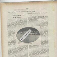 Coleccionismo de Revistas y Periódicos: REVISTA IBERICA 1917 EXPLORADORES ESPAÑOLES CATALANES SALVADOR CASTELLO NATURALISTA ARENYS DE MAR. Lote 37424244