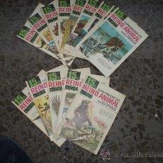 Coleccionismo de Revistas y Periódicos: 14 FASCÍCULOS CURIOSIDADES REINO ANIMAL. BRUGUERA. 1970. 31,32,33,34,36,37,38,39,40,41,42,43, 44, 45. Lote 37444077