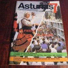 Coleccionismo de Revistas y Periódicos: ASTURIAS 7.- LA REVISTA DE LOS ASTURIANOS. Nº 2 OCTUBRE DE 1985. Lote 37494068