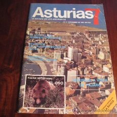 Coleccionismo de Revistas y Periódicos: ASTURIAS 7.- LA REVISTA DE LOS ASTURIANOS. Nº 3.- NOVIEMBRE DE 1985. Lote 37494128