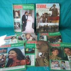 Coleccionismo de Revistas y Periódicos: LOTE DE REVISTAS SEMANA. Lote 58601471