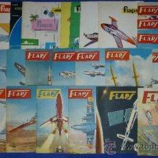 Coleccionismo de Revistas y Periódicos: FLAPS - REVISTA JUVENIL DE AERONAÚTICA (1960) ¡IMPECABLES!. Lote 37639128