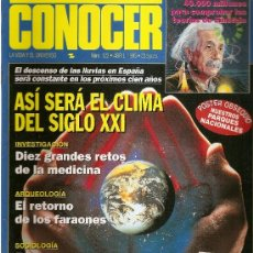Coleccionismo de Revistas y Periódicos: CONOCER N 123. Lote 37675249