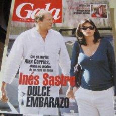Coleccionismo de Revistas y Periódicos: REVISTA GALA-INES SASTRE-24 DE MAYO DE 2006. Lote 57961244