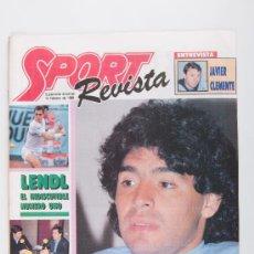 Coleccionismo de Revistas y Periódicos: REVISTA SPORT, AÑO 1988 MARADONA. Lote 37703808