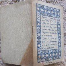 Coleccionismo de Revistas y Periódicos: GALICIA PORRIÑO - RARISIMO PROGRAMA DE FIESTAS AL CRISTO DE LA AGONIA SEPTIEMBRE 1914. Lote 37710533