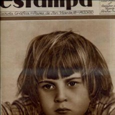 Coleccionismo de Revistas y Periódicos: REVISTA ESTAMPA 12 SETIEMBRE 1931. Lote 37729975