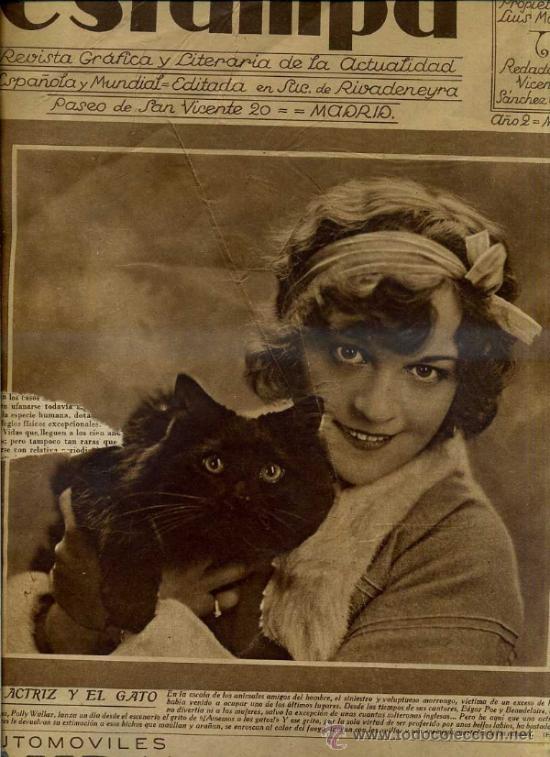 REVISTA ESTAMPA 1 OCTUBRE 1929 (Coleccionismo - Revistas y Periódicos Antiguos (hasta 1.939))