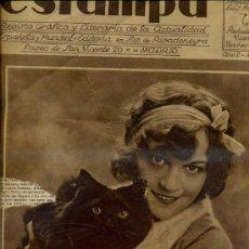 Coleccionismo de Revistas y Periódicos: REVISTA ESTAMPA 1 OCTUBRE 1929. Lote 37730222