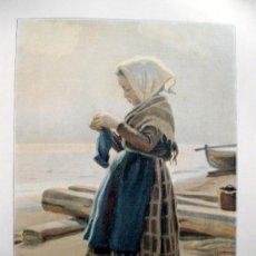 Coleccionismo de Revistas y Periódicos: ALBUM SALÓN. AÑO V. NÚM. 85. 1 MARZO 1901. LITOGRAFÍAS DE ÉPOCA. LITOGRAFIA. Lote 37735463